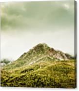 Untouched Mountain Wilderness Canvas Print