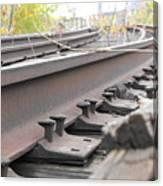 Unused Rail Canvas Print