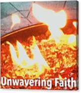Unwavering Faith Canvas Print