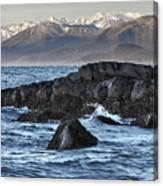 Up The Stikine Canvas Print