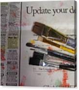 Update Your Decor Canvas Print