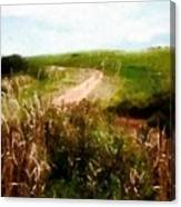 Uphill Curve Canvas Print