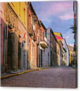 Uphill In Avila Canvas Print