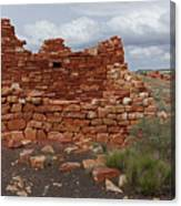 Upper Box Canyon Ruin Canvas Print