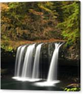 Upper Butte Creek Falls 2 Canvas Print