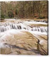 Upper Campbell Falls Canvas Print
