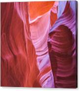 Upper Canyon 31 Canvas Print