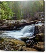 Upper Copeland Falls Canvas Print