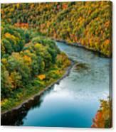Upper Delaware River Canvas Print