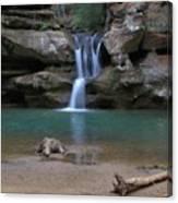 Upper Falls In Hocking Hills Canvas Print