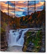 Upper Falls Letchworth State Park Canvas Print