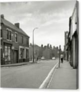 Upper High Street, Lye - 1960's    Ref-63 Canvas Print