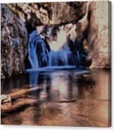 Upper Jemez Falls New Mexico Canvas Print