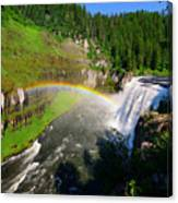 Upper Mesa Falls Canvas Print