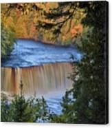 Upper Tahquamenon Falls In October Canvas Print