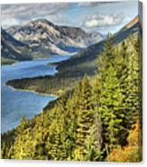 Upper Waterton Lake Valley Canvas Print
