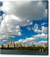 Upper West Side Cityscape Canvas Print