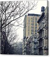 Upper West Side Winter Canvas Print