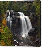 Upper Whitewater Falls - Nc Canvas Print
