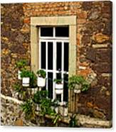 Upper Window Canvas Print