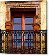 Upper Window Tlaquepaque Canvas Print