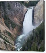 Upper Yellowstone Canvas Print