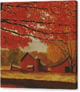 Upstate Autumn Canvas Print