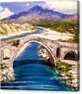 Ura E Mesit - Location Shkoder Albania Canvas Print