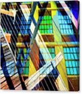 Urban Abstract 123 Canvas Print