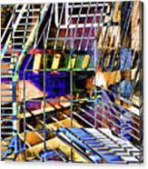 Urban Abstract 172 Canvas Print