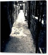 Urban Alley Canvas Print