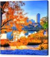 Urban Autumn Paradise Canvas Print
