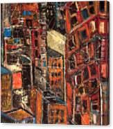 Urban Congestion Canvas Print