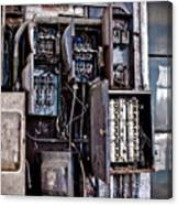 Urban Decay  Fuse Box Canvas Print