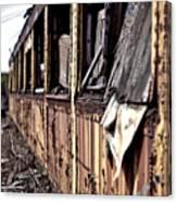Urban Decay  Train 2 Canvas Print