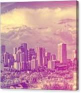 Urban Downtown Canvas Print