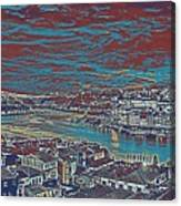 Urban Evening Canvas Print