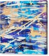 Urban Footprint Canvas Print