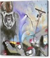 Urban Gaze Canvas Print