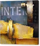 15.020 - Urban Intersection Canvas Print