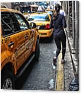 Urban Jogger Canvas Print