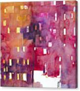 Urban Landscape 3 Canvas Print