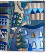 Urban Landscape 5 Canvas Print