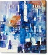 Urban Landscape No.1 Canvas Print