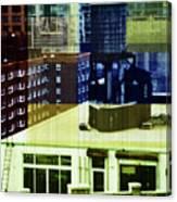 Urban Layers Canvas Print