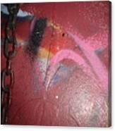 Urban Love Chain Canvas Print