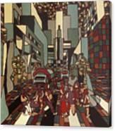 Urban Music Vl Canvas Print
