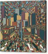 Urban Music Xll Canvas Print