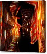 Urban Nightlights Canvas Print