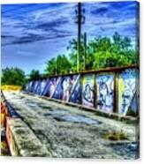 Urban Overpass Canvas Print